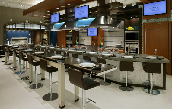 Demonstration Kitchen Design